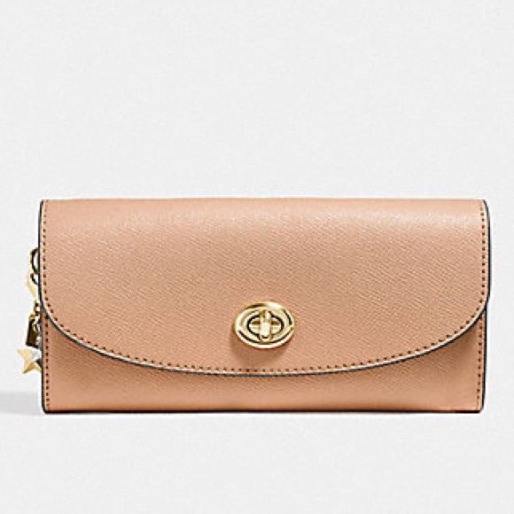 Coach Handbags - Coach Slim Envelope Wallet With Charms